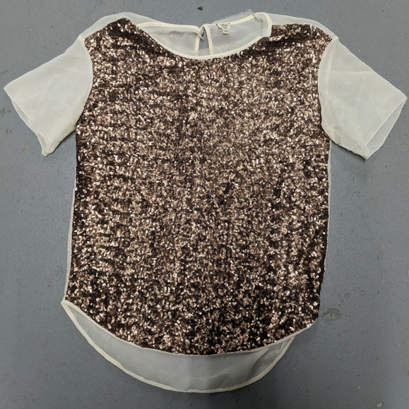 Stunning sequin Wilfred top